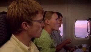 første flytur for Amisk ungdom på vei til Storbrittania